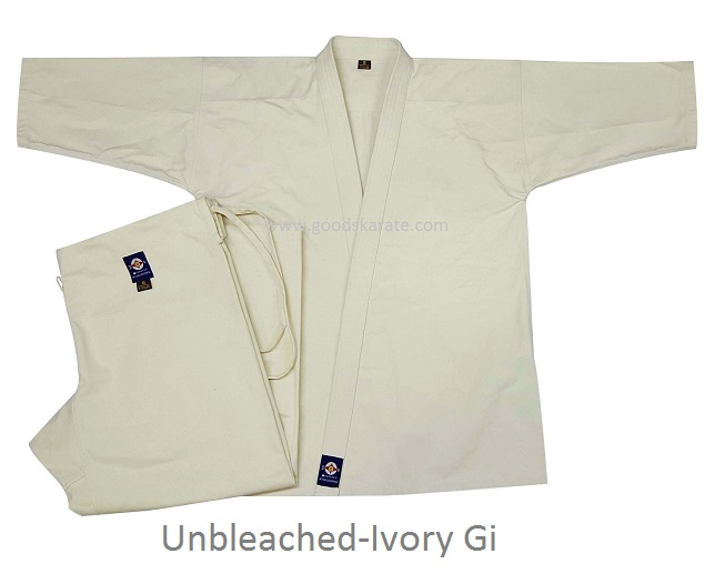 Unbleached Full Contact Karate Gi
