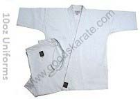Karate Full Contact Gi Medium Weight 10oz