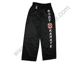 Karate Trousers with Embroidery